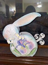 Vintage Easter Bunny Candle Holder