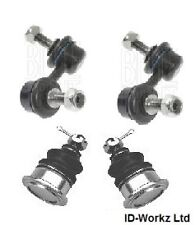 HONDA CIVIC 2.0i TYPE R EP3 FRONT ANTI ROLL BAR DROP LINKS + BALL JOINTS PAIR