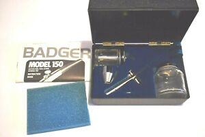 BADGER AIR BRUSH MODEL 150 L Set With Case Instruction Booklet Crafts Models