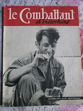 MILITARIA COMBATTANT D'INDOCHINE N° 29 OCTOBRE 1954 INDOCHINA MAGAZINE COLONIE