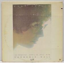 "DORY PREVIN  ""Live At Carnegie Hall""  Double Live Vinyl LP   UA-LA108-H2"