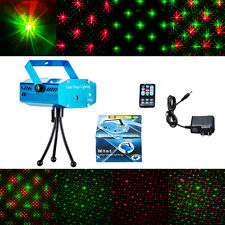 Hot Mini Projector R&G DJ Disco Light Stage Xmas Party Laser Lighting+remote,BL