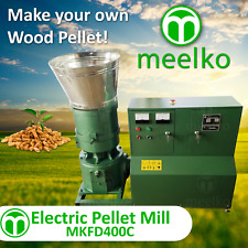 ELECTRIC PELLET MILL FOR WOOD - MKFD400C - FREE SHIPPING