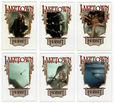 The Hobbit : The Desolation of Smaug Lake-town Acetate Chase Set LT1 - LT6