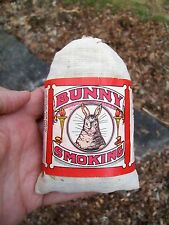 OLD BUNNY SMOKING PIPE TOBACCO PACK / POUCH - HERMAN & CO NEW CUMBERLAND PA
