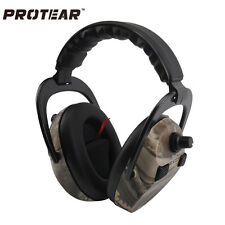 Hunting Headset Shooting Range Ear Muffs 360 Quad Microphone Ear Protection