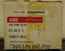 ABB Load Break Switch Disconnector OETL-200-K3-2 ++ NEW ++