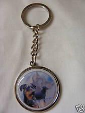 Porte-clés en métal - chien BEAUCERON