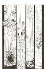 Hercules: Twilight of a God #2 p.11 Alien Silver Surfer Action - 2010 by Ron Lim Comic Art