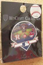 2013 Houston Astros vs Cleveland Indians pin Inaugural American League Season