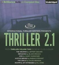 Thriller 2.1: The Weapon, Remaking, Iced, Justice Served, The Circle, Roomful of
