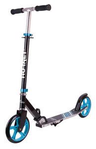 Hudora Hornet Scooter 200 schwarz hellblau Roller Cityroller 14522