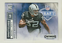 2014 Panini Contenders DRAFT CLASS #RDA-11 KHALIL MACK RC Rookie Chicago Bears