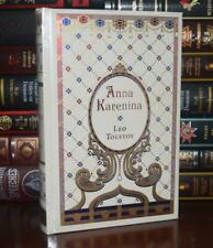 Anna Karenina by Leo Tolstoy Sealed New Leather Bound Collectible Hardcover