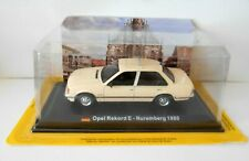 DIE CAST OPEL REKORD E - NUREMBERG 1980- 1/43 - Centauria Taxi Collection -