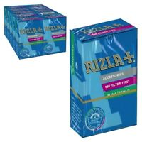 RIZLA Filter Tips Slim Tips 6MM Cigarette Rolling Tips x 150  *New Pack Design*