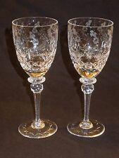 """Rogaska Crystal GALLIA 7 3/4"""" Wine Glasses lot of 2"""