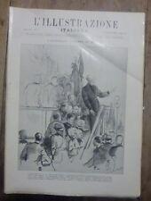 ILLUSTRAZIONE ITALIANA N 5/1928 - ASSEMBLEA FASCIO MILANO  REGGIA CAPRAROLA ROMA