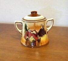 Royal Doulton 'Sir Roger de Coverley' Covered Sugar Bowl
