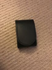 "Ex Police Black Leather Belt Buckle Protector For 2"" Kit Belt. 444."