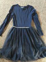girls age 11-12 navy dress monoprix teens