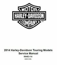 2014 Harley Davidson Touring All Models Factory Oem Service Repair Shop Manual (Fits: Harley-Davidson)