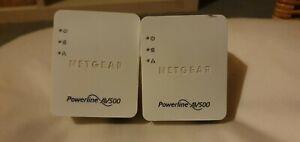 Netgear Powerline 500 Nano Adapter XAV5201 pair