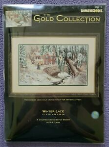 Dimensions Gold Collection Kit - Winter Lace