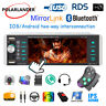"""1Din Mp5 Player RDS AM FM 4-USB BT 5.1"""" AI Smart Voice Android 10 iOS Mirrorlink"""