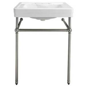 American Standard Fitzgerald Sink Console Stand Only Polish Chrome D21410128.002