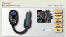 Technaxx FMT300 BT - FM Trasmitter, Bluetooth USB, Memory Card Reader, Vivavoce
