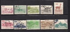 PEROU 1960-62 Y&T N°451 456 457 et 458 à 463 9 timbres oblitérés / 4150