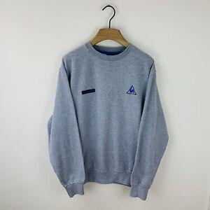 Vintage Le Coq Sportif Sweatshirt Size Men's Medium Embroidered Logo Crewneck