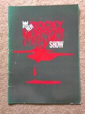 Craig McLachlan Autograph Gina Riley Rowsthorn '93 Rocky Horror Tour Program