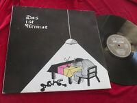AGM Das ist Heimat Heimat-Records 1980 Deutsch-Punk Vinyl: mint-/Cover:very good