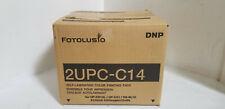 DNP 2UPC-C14 4x6in print media, Sony 2 UPCC 14 per Laboratorio (FOTOLUSIO Snap) spedizione gratuita