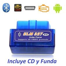Scaner - Diagnosis coches ELM327 v2.1, multimarca OBD2 Bluetooth Android, ODBII