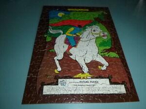 Vtg 1960 Tuco Jigsaw Puzzle Headless Horseman American Folk-Lore Series 300PCs