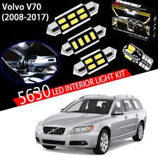 16pcs Xenon White 5630 LED For Volvo V70 Estate Wagon 2008~17 Interior Light Kit