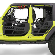 Rock Crawler Off Road Front+Rear Tubular 4 Door Set for 18-19 Jeep JL Wrangler