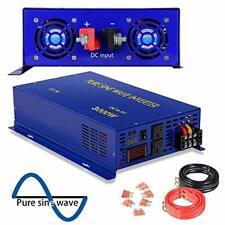 XYZ INVT 3000 Watt Pure Sine Wave Inverter 36V DC to 120V AC for Car RV Home Use