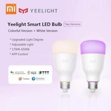 Xiaomi yeelight Smart LED лампы беспроводной цветной 800 лм 10 Вт E27 App пульт дистанционного управления лампа