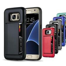 Hard Cover TPU Silicon for APPLE LG SAMSUNG Heavy Outdoor Case with Card Slot