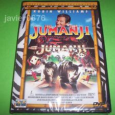 JUMANJI DVD NUEVO Y PRECINTADO