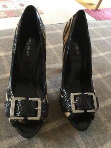 Karen Millen Ladies Pony Skin Shoes Size 40 / 7