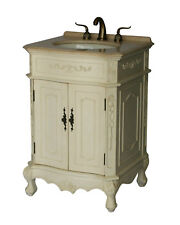 24-Inch Antique Style Single Sink Bathroom Vanity Model 1905-24 261Be