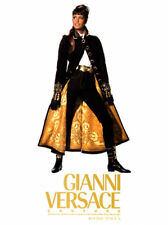 1992 Gianni Versace Yasmeen Ghauri fashion MAGAZINE AD