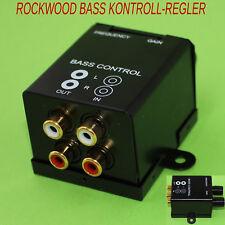 Rockwood Subwooferweiche Bass Weiche Frequenzweiche regelbar Cinch Aktiv (309