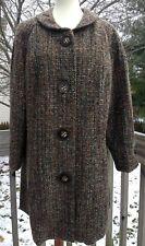 Lane Bryant Womens Tweed Jacket Coat  - Large Buttons - Size 14/16 - NWT $149