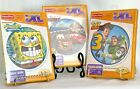 Lot of 3 Fisher Price iXL Learning System Toy Story 3 Sponge Bob Disney Cars NEW